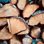 wood to burn in fire pit